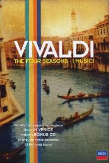 "Antonio Vivaldi (1678-1741): Concerti op.8 Nr.1-4 ""4 Jahreszeiten"" (DVD & CD), 2 DVDs"