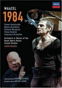 Lorin Maazel (1930-2014): 1984 (Oper nach George Orwell), DVD