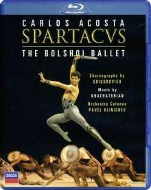 Bolshoi Ballett:Spartacus, Blu-ray Disc