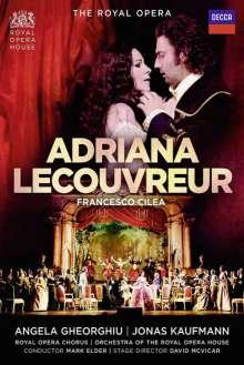 Francesco Cilea (1866-1950): Adriana Lecouvreur, 2 DVDs