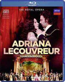 Francesco Cilea (1866-1950): Adriana Lecouvreur, Blu-ray Disc