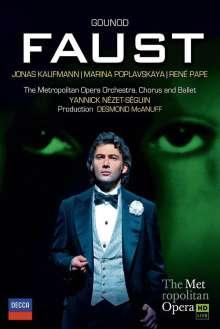 "Charles Gounod (1818-1893): Faust (""Margarethe""), 2 DVDs"