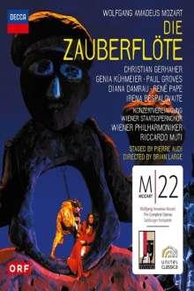 Wolfgang Amadeus Mozart (1756-1791): Mozart 22 - Die Zauberflöte, Blu-ray Disc