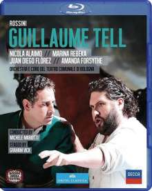 Gioacchino Rossini (1792-1868): Wilhelm Tell, Blu-ray Disc