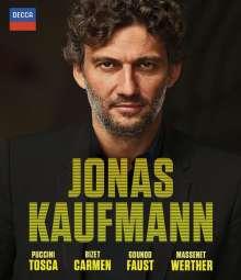 Jonas Kaufmann – Vier große Opern, 4 Blu-ray Discs