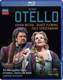Giuseppe Verdi (1813-1901): Otello, Blu-ray Disc