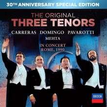 Die drei Tenöre in Concert, Rom Juli 1990 (30th Anniversary Special Edition), 1 CD und 1 DVD