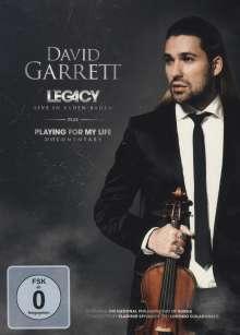 David Garrett - Legacy Live in Baden-Baden, DVD