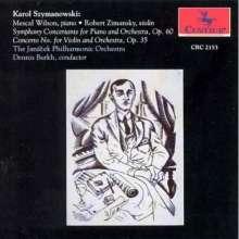Karol Szymanowski (1882-1937): Symphonie Concert.f.Klavier & Orch.op.60, CD