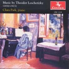 Theodor Leschetizky (1830-1915): Klavierwerke, CD