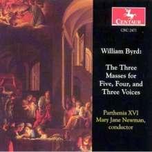 William Byrd (1543-1623): Messen zu 3,4 & 5 Stimmen, CD
