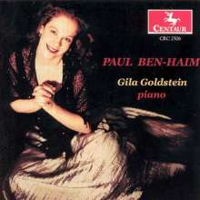 Paul Ben-Haim (1897-1984): Klaviermusik, CD