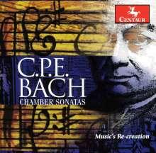 Carl Philipp Emanuel Bach (1714-1788): Triosonaten in A-Dur & a-moll, CD