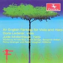Doris Lederer - An English Fantasy for Viola and Harp, CD