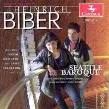 Heinrich Ignaz Biber (1644-1704): Sonatae tam aris quam aulis servientes, CD