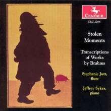 Johannes Brahms (1833-1897): Sonaten für Klarinette & Klavier op.120 Nr.1&2 (arr.f.Flöte), CD