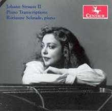 Rorianne Schrade - J.Strauss I-Transkriptionen, CD