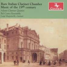 Rare Italian Clarinet Chamber Music of the 19th Century, CD