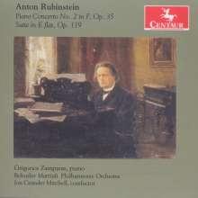 Anton Rubinstein (1829-1894): Klavierkonzert Nr.2, CD