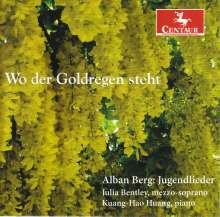 "Alban Berg (1885-1935): Lieder ""Jugendlieder"", CD"