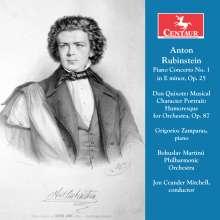 Anton Rubinstein (1829-1894): Klavierkonzert Nr.1, CD