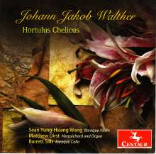 Johann-Jacob Walther (1650-1717): Hortus Chelicus, 4 CDs