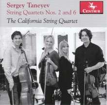 Serge Tanejew (1856-1915): Streichquartette Nr.2 & 6, CD