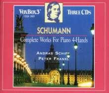 Robert Schumann (1810-1856): Werke für Klavier 4-händig, 3 CDs
