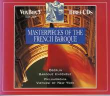 Masterpieces of the French Baroque, 3 CDs