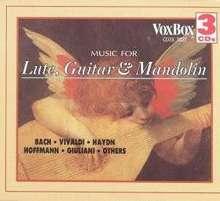 Konzerte für Laute,Mandoline & Gitarre, 3 CDs