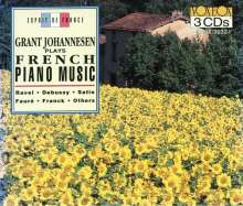 Grant Johannesen plays French Piano Music, 3 CDs