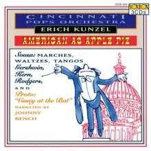 Cincinnati Pops Orchestra - American As Apple Pie, 3 CDs