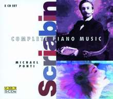 Alexander Scriabin (1872-1915): Klavierwerke, 5 CDs