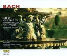 Johann Sebastian Bach (1685-1750): Orchestersuiten Nr.1-4, 5 CDs