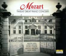 Wolfgang Amadeus Mozart (1756-1791): Klavierkonzerte Nr.17-27, 5 CDs