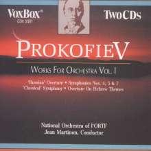 Serge Prokofieff (1891-1953): Orchesterwerke Vol.1, 2 CDs