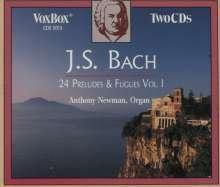 Johann Sebastian Bach (1685-1750): Präludien & Fugen Vol.1, 2 CDs