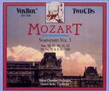 Wolfgang Amadeus Mozart (1756-1791): Symphonien Vol.1, 2 CDs