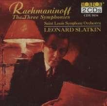 Sergej Rachmaninoff (1873-1943): Symphonien Nr.1-3, 2 CDs