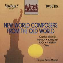 New World String Quartet - New World Composers from the Old World, 2 CDs