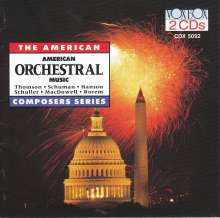 American Orchestral Music, 2 CDs