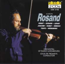 Aaron Rosard - Romantic Violin Music, 2 CDs