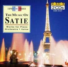 Erik Satie (1866-1925): Socrate für Stimmen & Ensemble, 2 CDs