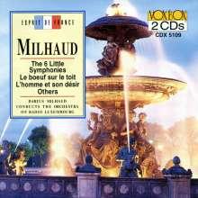 Darius Milhaud (1892-1974): Petites Symphonies Nr.1-6, 2 CDs