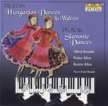 Johannes Brahms (1833-1897): Ungarische Tänze Nr.1-21, 2 CDs