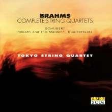 Johannes Brahms (1833-1897): Streichquartette Nr.1-3, CD
