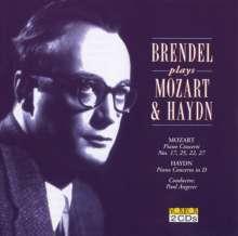 Alfred Brendel spielt Klavierkonzerte, 2 CDs