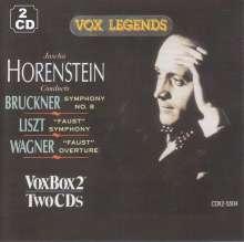 Jascha Horenstein conducts, 2 CDs