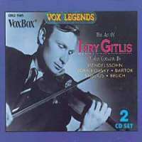 Ivry Gitlis - The Art of..., 2 CDs
