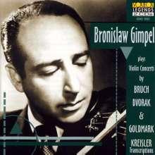 Bronislaw Gimpel spielt Violinkonzerte, 2 CDs